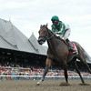 Artemis Agrotera polished off pacesetter La Verdad midstretch and sprinted clear to an overpowering victory in the $500,000 Grade I Ballerina Stakes at Saratoga Race Course.       <br /> Coglianese Photo