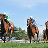 Keeneland Spring 2014; Lexington; KY; photo by Mathea Kelley, Ageless, Julien Leparoux up wins the  Giants Causeway Stakes, 4/19/14