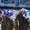 Close Hatches wins the 2014 Ogden Phipps at Belmont Park.<br /> Coglianese Photos/Adam Mooshian