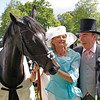 Royal Ascot 18/6/14. The Prince of Wales's Stakes<br /> The Fugue with Lord and Lady Lloyd Webber