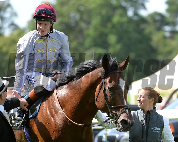 Toronado, Richard Hughes up wins the Queen Anne Stakes, Royal Ascot, Ascot Race Course, England, 6/17/14 photo by Mathea Kelley