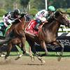 Palace wins the 2014 Alfred G. Vanderbilt Handicap at Saratoga.<br /> Coglianese Photos