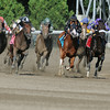 Coup de Grace wins the 2014 Amsterdam at Saratoga.<br /> Coglianese Photos