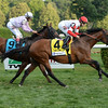 Big Blue Kitten wins the 2014 Lure Stakes at Saratoga.<br /> Coglianese Photos