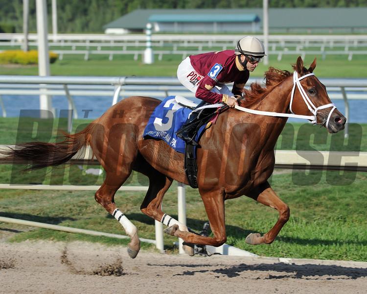 Sheer Drama wins the 2015 Royal Delta Stakes.<br /> Coglianese Photos/Lauren King