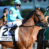 Lady Eli wins the 2015 Belmont Oaks.<br /> Coglianese Photos/Joe Labozzetta