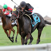 Devine Aida wins the 2015 Ginger Brew Stakes at Gulfstream Park.<br /> Coglianese Photos/Kenny Martin