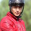 Brazilian born jockey TIAGO PEREIRA, winner of the Dubai World Cup 2010, at Santa Anita 06.27.15. Photo by Helen Solomon