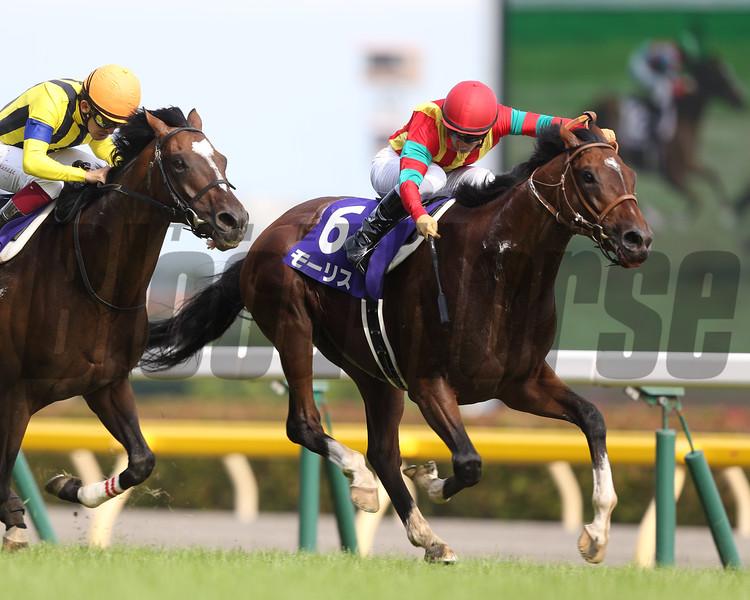 Maurice wins the Yasuda Kinen June 7 in Japan.<br /> Masakazu Takahashi Photo