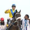 Mubtaahij wins the UAE Derby at the Dubai World Cup Carnival March 28, 2015<br /> Msakazu Takahashi Photo
