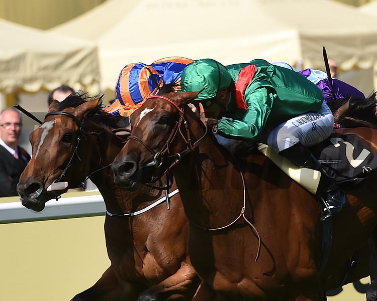Ervedya wins the 2015 Coronation Stakes at Royal Ascot.<br /> Mathea Kelley