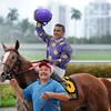 Twotwentyfive A wins the 2015 Florida Sire Prized Stakes.<br /> Coglianese Photos/Lauren King