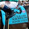 Caption:  Honor Code with Javier Castellano wins the Metropolitan (gr. I)<br /> Scenes, horses, races on Belmont Stakes day on June 6, 2015, in Elmont, N.Y.<br /> Met Mile  image787<br /> Photo by Anne M. Eberhardt