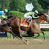 Keen Ice wins the 2015 Travers Stakes.<br /> Coglianese Photos/Lauren King