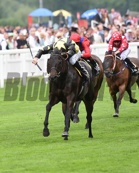 Golddream wins the at Royal Ascot.<br /> Mathea Kelley Photo