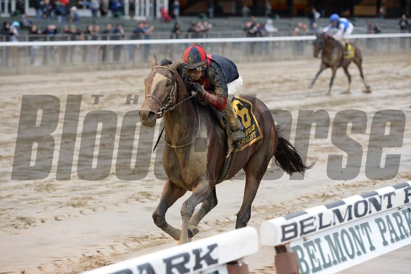 Tonalist wins the 2015 Jockey Club Gold Cup.<br /> Coglianese Photos/Chelsea Durand