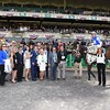 Tepin wins the 2015 Just a Game Stakes.<br /> Coglianese Photos