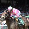 Smart Transition wins the Curlin Stakes at Saratoga.<br /> Coglianese Photos/Adam Mooshian