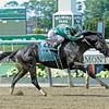 Caption:  Honor Code with Javier Castellano wins the Metropolitan (gr. I)<br /> Scenes, horses, races on Belmont Stakes day on June 6, 2015, in Elmont, N.Y.<br /> Met Mile  image<br /> Photo by Anne M. Eberhardt