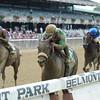 Irish Jasper wins the 2015 Victory Ride Stakes.<br /> Coglianese Photos/Adam Mooshian
