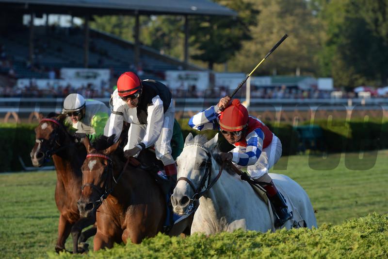 White Rose wins the 2015 Glens Falls Stakes.<br /> Coglianese Photos/Adam Mooshian
