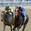Saratoga Snacks wins the 2015 Saginaw Stakes.<br /> Coglianese Photos/Joe Labozzetta
