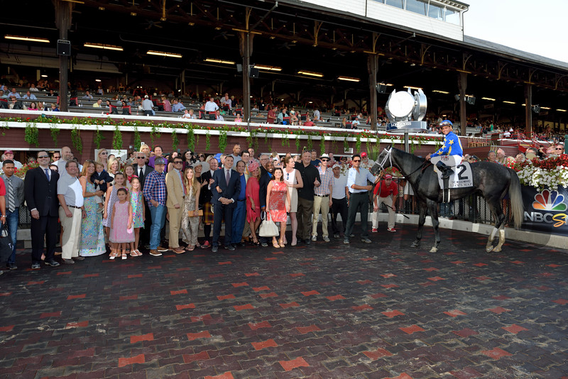 Liam's Map wins the 2015 Woodward Stakes.<br /> Coglianese Photos