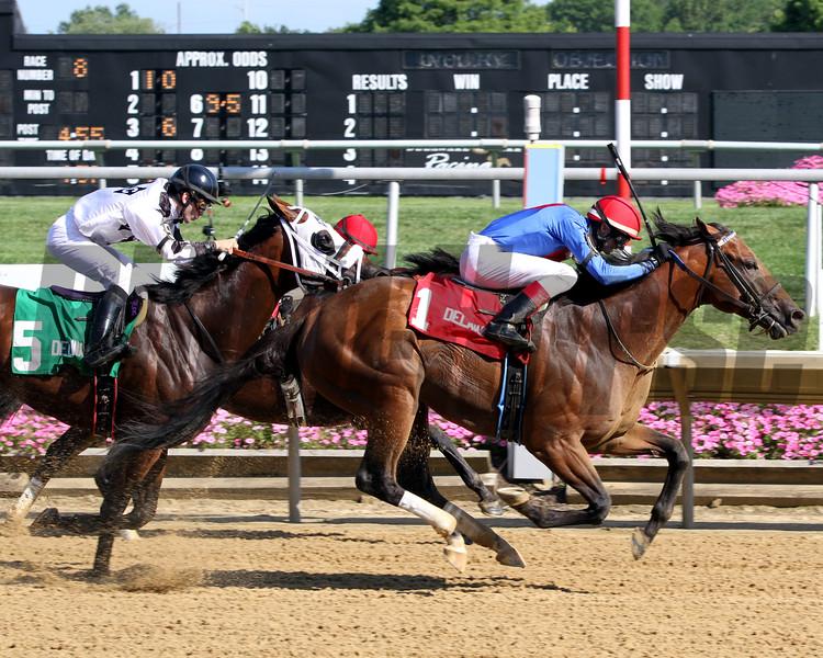 Heaven's Runway Hockessin Stakes Delaware Park Chad B. Harmon