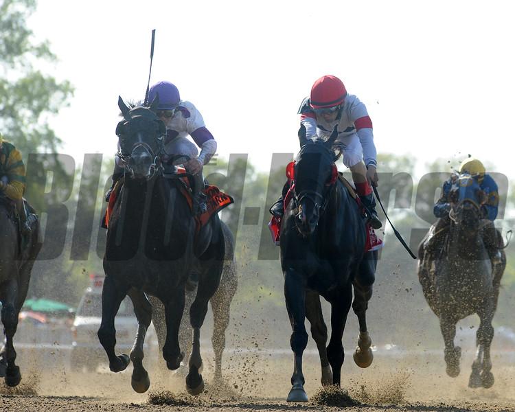 Stallwalkin' Dude wins the Diablo Stakes.<br /> Coglianese Photos