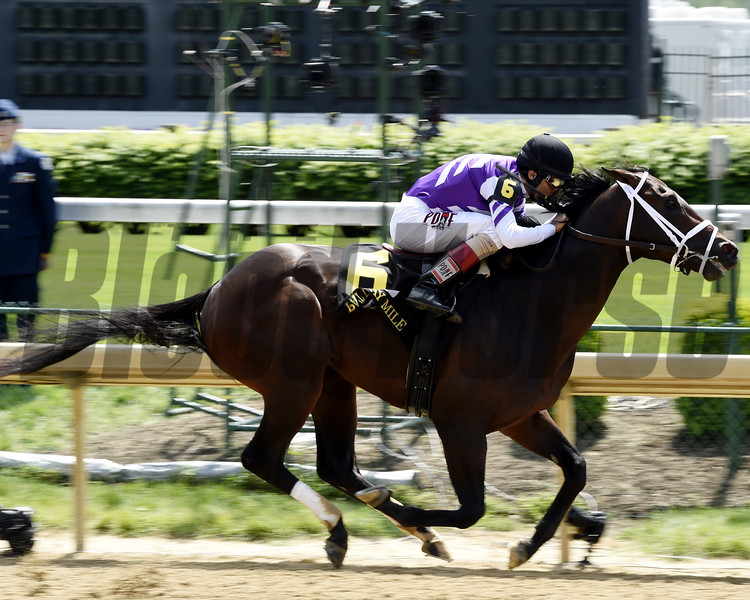Competitive Edge wins the 2015 Pat Day Stakes.<br /> Dave Harmon Photo