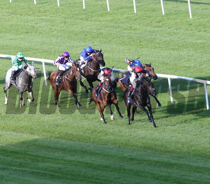 Golden Horn wins the 2015 QIPCO Irish Champion Stakes<br /> Caroline Norris Photo