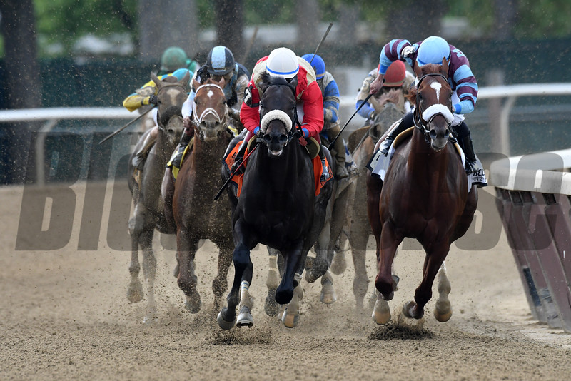 Unified wins the 2016 Peter Pan Stakes.      <br /> Coglianese Photos/Joe Labozzetta
