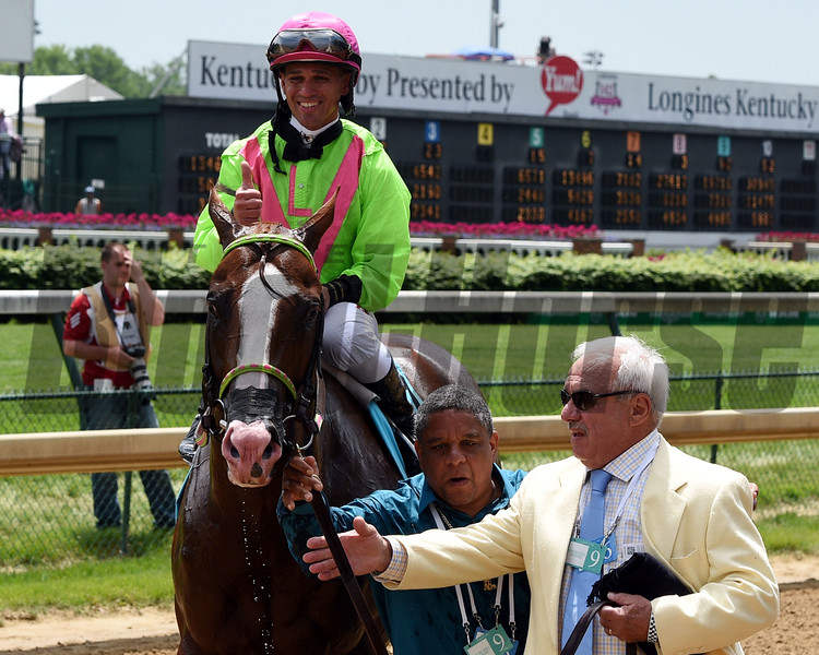 Catalina Red with Javier Castellano won the Churchill Downs (gr. II)<br /> Kentucky Derby day at Churchill Downs on May 7, 2016, in Louisville, Ky.<br /> Dave Harmon Photo