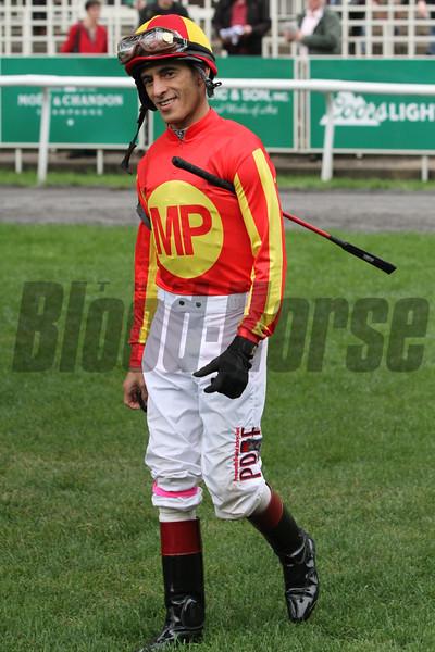 John Velazquez Jockey Club Gold Cup Belmont Park Chad B. Harmon