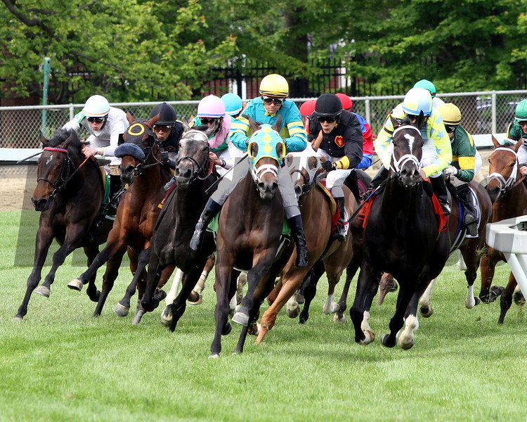 Javier Castellano out of Irons Hilltop Stakes Chad B. Harmon