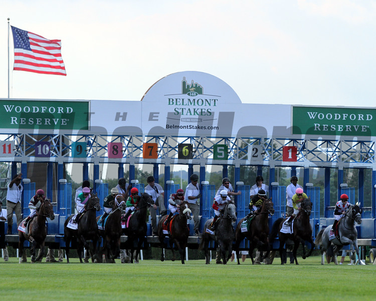 Manhattan Start Belmont Park Chad B. Harmon