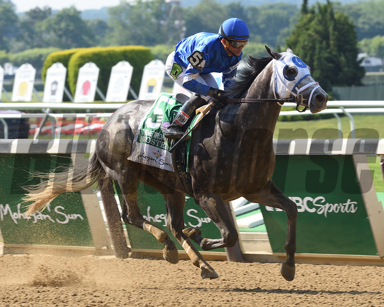 Frosted wins the 2016 Met Mile (gr. I)<br /> Coglianese Photos/Adam Coglianese