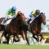 Makahiki (JPN) wins the Tokyo Yushun (Japanese Derby) May 29, 2016.<br /> Masakazu Takahashi Photo