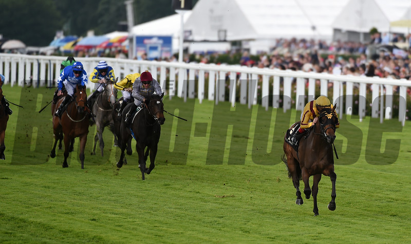 Lady Aurelia wins Queen Mary Stakes at Royal Ascot June 15, 2016<br /> Mathea Kelley Photo