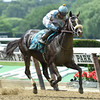 Tom's REady with jockey Joel Rosario in the irons wins 32nd running of The Woody Stephens at Belmont Park June 11, 2016 in Elmont, N.Y. Photo by Skip Dickstein