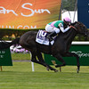 Flintshire with Javier Castellano wins the Woodford Reserve Manhattan (gr. I).<br /> Coglianese Photos/Nikki Sherman
