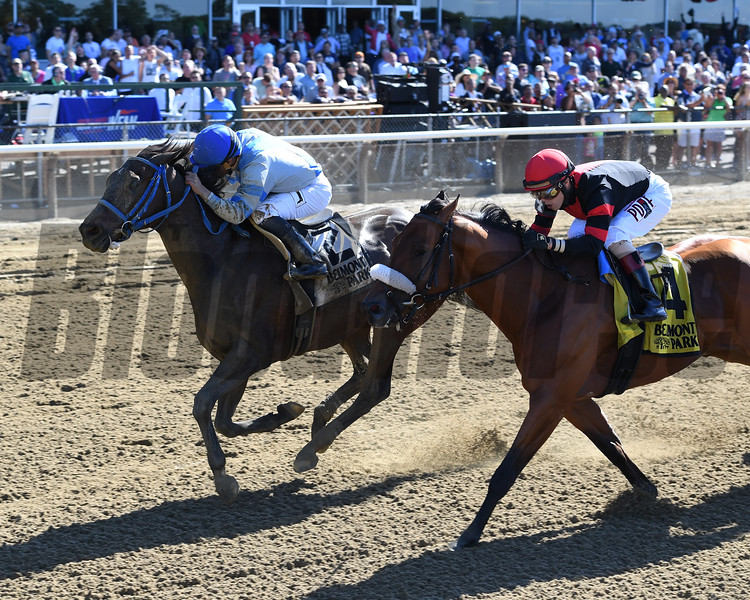 Joking wins the 2016 True North Stakes.        <br /> Coglianese Photos/Chelsea Durand