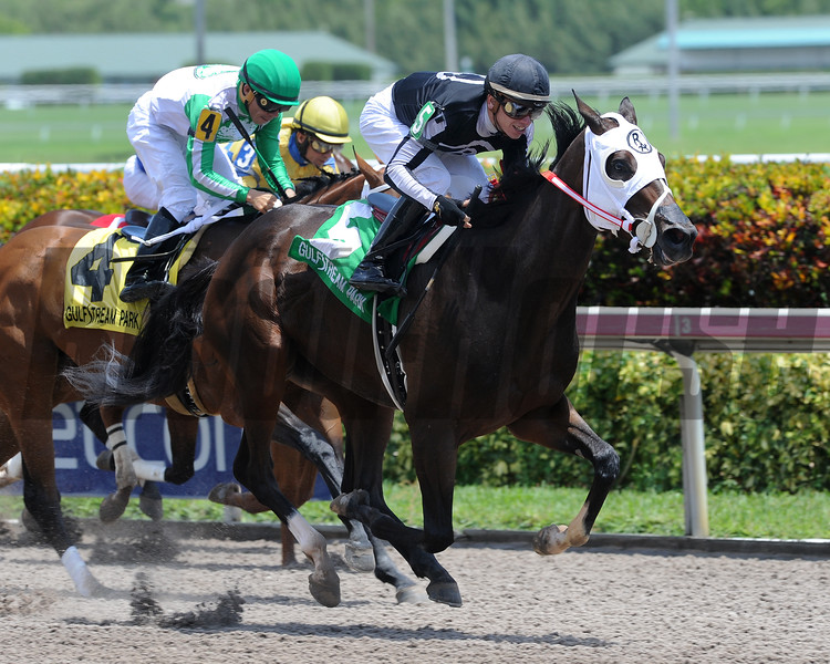 R Kinsley Doll wins the 2016 Florida Sire Three Ring Stakes.<br /> Coglianese Photos/Lauren King