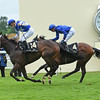 Tepin wins the Queen Anne Stakes at Royal Ascot June 14, 2016.<br /> Mathea Kelley Photo
