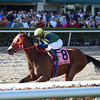 Defer Heaven wins the 2016 Claiming Crown Express.<br /> Coglianese Photos/Lauren King