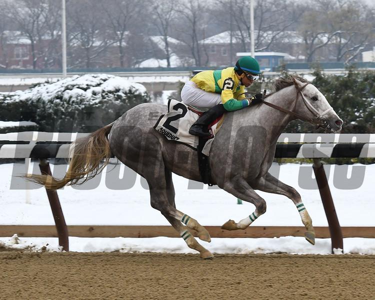 Bavaro wins the 2016 Great White Way Division of the New York Stallion Series Stakes<br /> Coglianese Photos/Anette Jasko