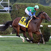 Lady Lara wins the 2016 Fasig-Tipton De La Rose Stakes.<br /> Coglianese Photos