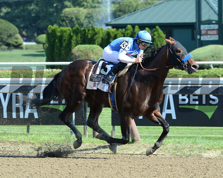 Drefong wins the 2016 King's Bishop.<br /> Conglianese Photos/Chris Rahayel