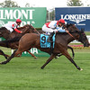 Ultra Brat wins the 2016 Christiecat Stakes.<br /> Coglianese Photos