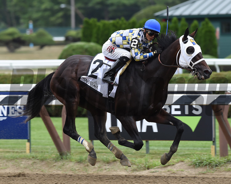 Laoban wins the 2016 Jim Dandy.<br /> Coglianese Photos